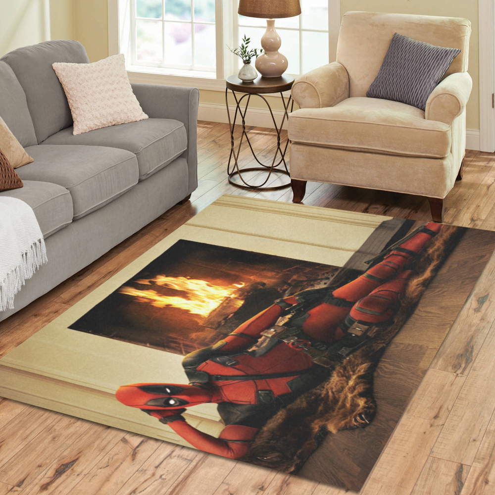 SUPER Soft SWEET HOME moderno tappeto DEADPOOL Area Tappeti Indoor