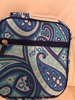 Pottery Barn Kids Teen Gear Up Classic Lunch Bag Paisley Blue