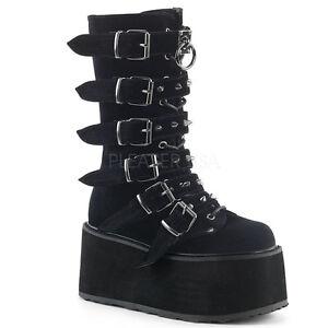 bb43c803314e Demonia Black Velvet 3.5