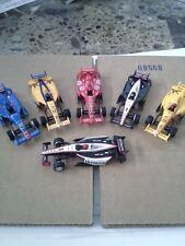 New Autoworld 6 Car Set Super III Indy lll HO Slot Car Bodies Run On Tomy AFX