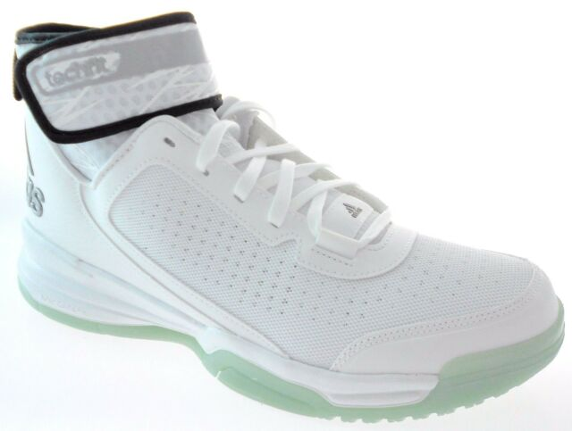 competitive price 8e343 61072 ADIDAS DUAL THREAT BB MENS WHITE BASKETBALL SHOES, D69586