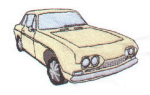 Reliant Scimitar GT Embroidered /& Personalised T Shirt