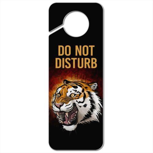 Fierce Tiger Plastic Door Knob Hanger Sign