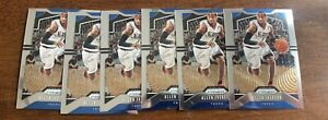 Lot-of-6-Allen-Iverson-2019-20-Panini-Prizm-6-76ers-Hall-Of-Fame