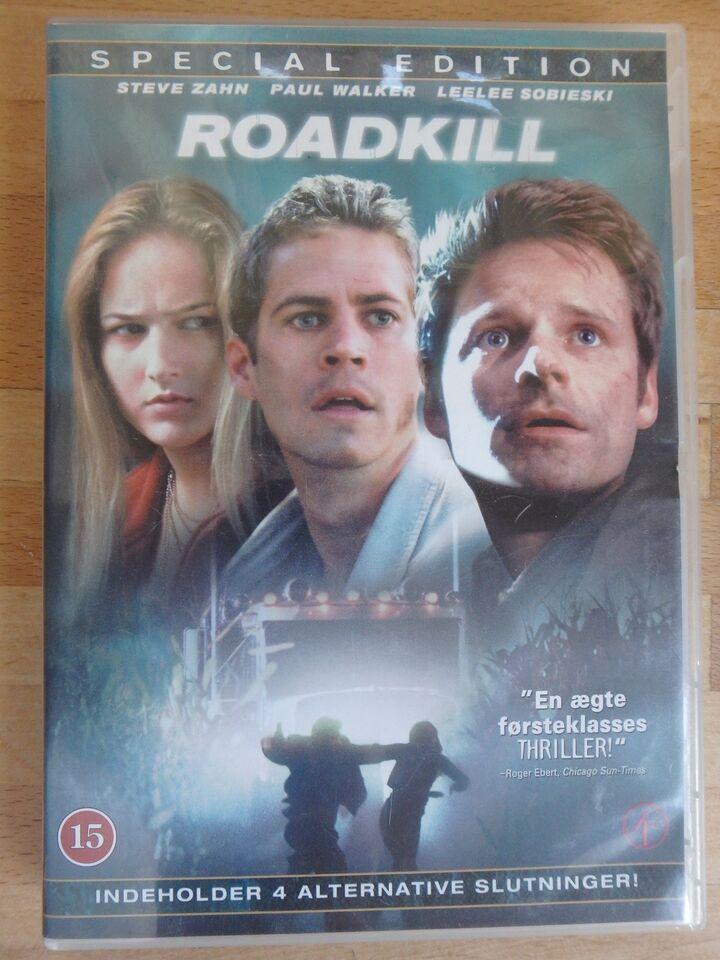 Roadkill (Steve Zahn & Paul Walker), DVD, thriller