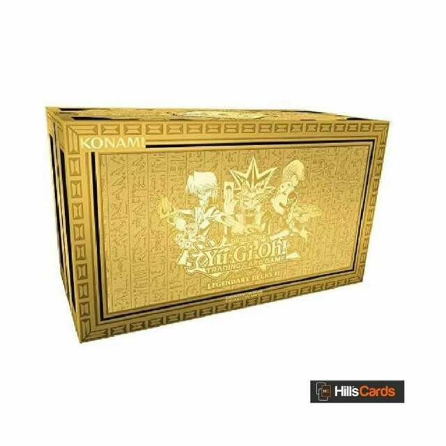 YuGiOh Legendary Decks II | 2020 Reprint Box | Inc Exodia & Egyptian God Cards
