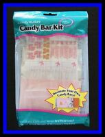 Baby Girl Candy Bar Kit Candy Mold -