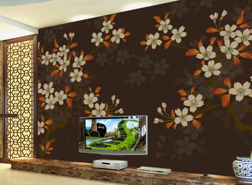 3D Classical Flowers 8 Wall Paper Murals Wall Print Wall Wallpaper Mural AU Kyra