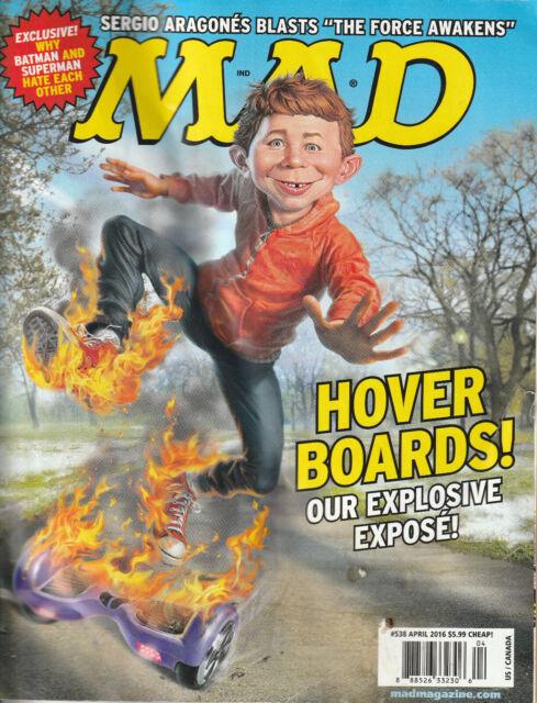 Mad Magazine April 2016