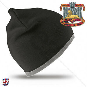 THE DEVONSHIRE REGIMENT CAP BADGE PRINTED ON A BASEBALL CAP.