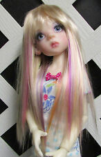 "Doll Wig, Monique Gold 6/7 ""Jewel"" Fantasy Pastels color Fantasy Wig"