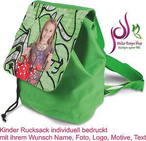 Kinder-Rucksack-individuell-bedruckt-Wunsch-Namen-Foto-Logo-Motiv-Personalisiert