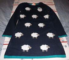 girls gymboree sweater weather sheep sweater dress size 18-24 mos. nwt