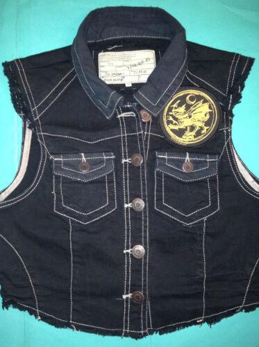 Vest The Filth off Cut Dragon Girls Cradle Jacket Order Denim Of Waistcoat Cqnv7