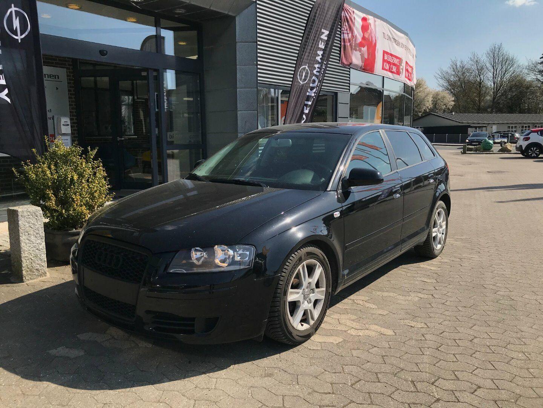 Audi A3 1,4 TFSi Attraction Sportback 5d - 55.000 kr.