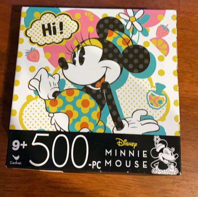 Disney Minnie Mouse 500-Piece Cardinal Jigsaw Puzzle Games Toys Mickey