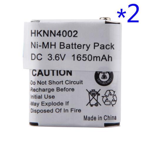 2 x HKNN4002 HKNN4002A Battery for MOTOROLA FV300 FV500 FV600 FV700 FV800 Series