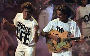 c24fdc2f Image is loading CHOOSE-LIFE-Wham-Replica-George-Michael-T-Shirt-