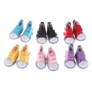 1-6-Doll-Fashion-Mini-Toy-5cm-Canvas-Shoes-Sneaker-DollShoesAccessory-AT