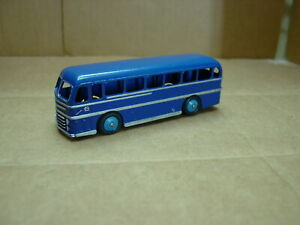 VINTAGE-DINKY-TOY-NO-282-DUPLE-ROADMASTER-SINGLE-DECK-DARK-BLUE-BUS-NEAR-MINT