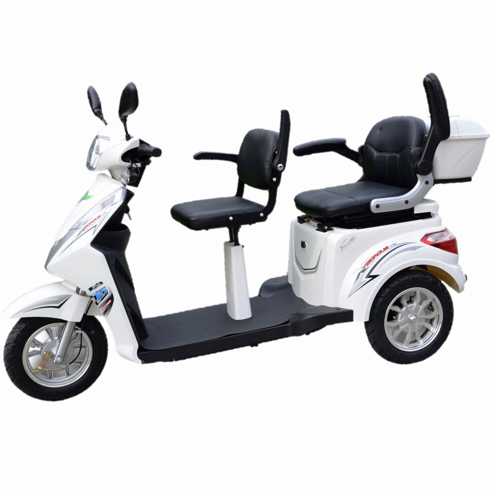 dreirad scooter seniorenmobil 2 pers eco engel 503 silber. Black Bedroom Furniture Sets. Home Design Ideas