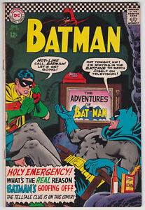 Batman-183-VG-4-0-Robin-Second-Appearance-Of-Poison-Ivy-1966
