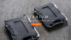 Dango-M1-TITANIUM-Maverick-Tactical-Wallet-Made-in-USA-Single-amp-Bifold