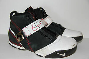 088ea724aba684 Details about Nike Zoom Lebron V (5) Akron ZLV King Black White Crimson  317253-011 Mens SZ 8.5