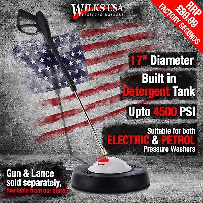 Pressure Washer Patio Cleaner Accessory 17 Deck Rotary Whirl Away Wilks Usa Ebay