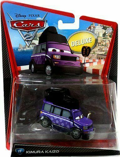 Disney Pixar Cars Kimura Kaizo #11 Deluxe 2011 NEW