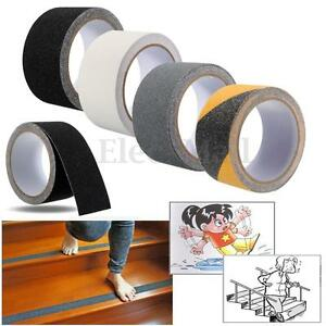 5cm x 3m Floor Safety Non Skid Tape Roll Anti Slip Adhesive Stickers High Grip