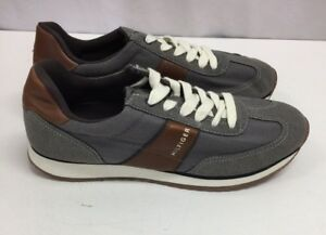 4682e9d9b908 Image is loading Men-039-s-Tommy-Hilfiger-Modesto-Gray-Casual-