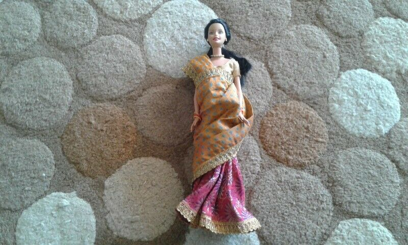 1998 Mattel Barbie of the world India for sale