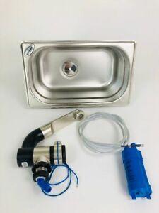 1 Stück Waschbecken Wasser Handpumpe Hahn Lager Anhänger Wohnmobil Boot Auto