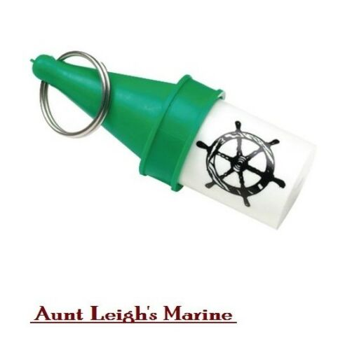 SeaChoice Watertight Floating Key Ring Chain Buoy Holder Money Container 78091