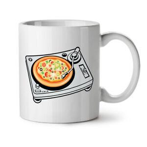 Pizza Dj Mix Music Food NEW White Tea Coffee Mug 11 oz | Wellcoda
