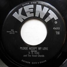 B.B. KING & VOCAL CHORDS 45 Please Accept My Love / You've Been.. DOO WOP e9319