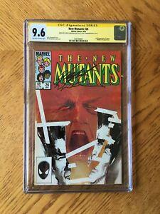New Mutants #26 Signed Chris Claremont & Bill Sienkiewicz 1st Legion 9.6 NM+ CGC