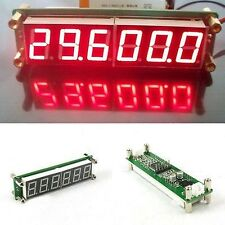 0.1 to 65MHz RF Signal Frequency Counter Cymometer meter 6 LED FOR Ham Radio R
