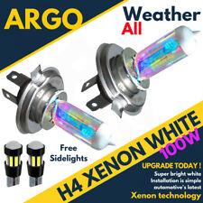 CITROEN 100W H7 H6W SUPER WHITE UPGRADE XENON LOW CANBUS LED SIDELIGHT BULBS SET