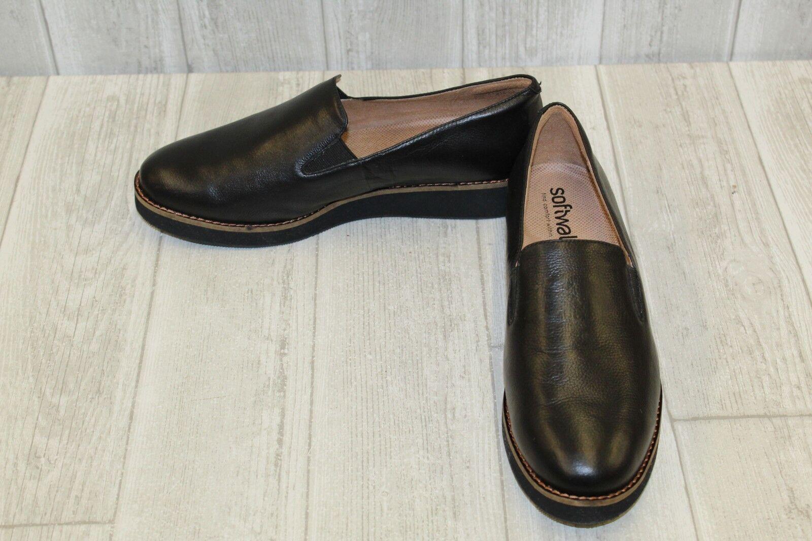Softwalk silbato resbalón en el zapato-mujer zapato-mujer zapato-mujer 'S Talla 8.5W - Negro  promocionales de incentivo