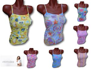 Microfibre Seamless Tank Top Intimidea Top Women's T-shirt Narrow Shoulder