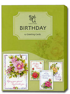 Image Is Loading Celebrating You Assorted Box Of 12 Birthday Cards