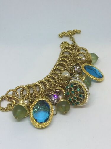 Statement Jewelry Claire Deve Runway Bracelet Pari