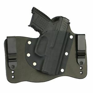 Details about FoxX Leather & Kydex IWB Hybrid Holster Walther PPS M2 Black  Right Tuckable