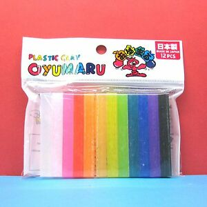 Oyumaru-modeling-Compound-Moulding-Stick-Color-12pcs-set