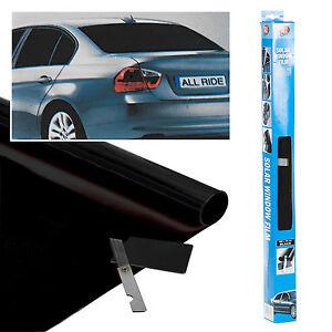 Ultra-Dunkel-Schwarz-Farbe-Auto-Limousine-Van-Fenster-Film-Reduzierstueck-Solar