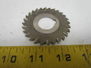 63x2.15x22mm Staggered Tooth Milling Cutter HSS 12-Tooth 63mm OD