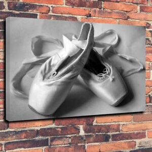 Bailarina impresa de profundidad Zapatillas Lona Arte de x20 Imagen 30 pared ballet mm de de A1 la 30 PPaHqp0