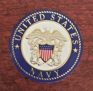 "Military Self-Adhesive Metal Medallion 2/"" Air Force"